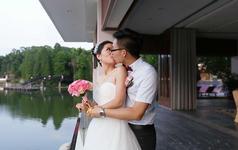 广州白云湖畔婚礼