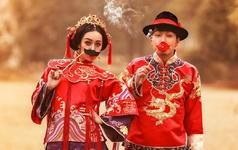 大麦影像-中式嫁衣