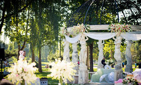 【艾丽丝】清新优美的户外婚礼