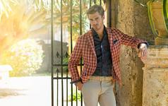 英伦风格子西服-私人定制量体裁衣