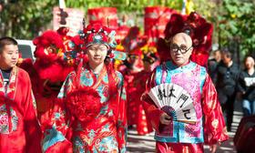 中式婚礼之御风飞翔