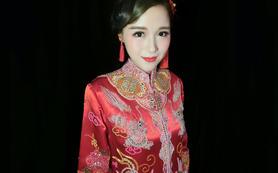 Dazzling婚纱——非常养眼的复古龙凤褂