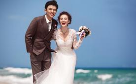 三亚海边婚纱照之二