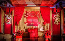 宫廷王府里的传统中式婚礼