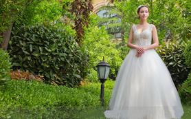 Dazzling出嫁齐地公主纱