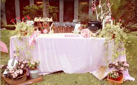 户外草坪婚礼套餐21888元