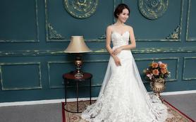 乐唯婚纱--【乐字系】抹胸两用婚纱租赁价格