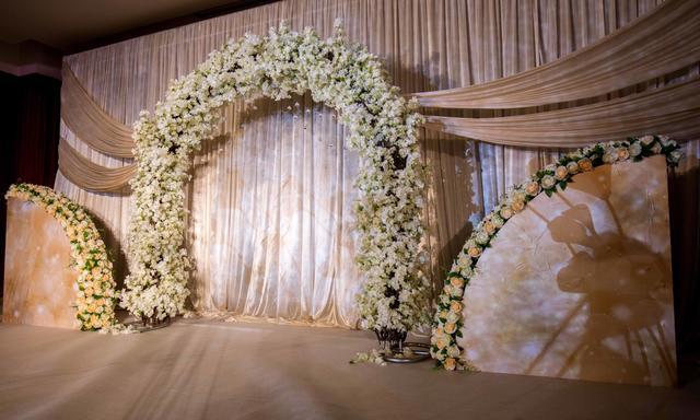繁星入梦 纯白色韩式婚礼