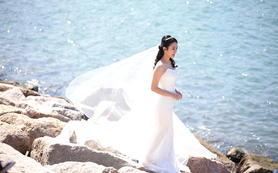 韩国摄影师驻香港拍摄外景婚纱
