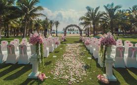 26880一线海景5星酒店婚礼