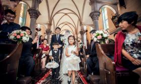 【卡摩曼影像】西直门教堂三机位婚礼电影