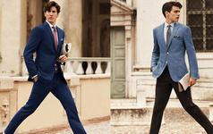 绅士必备-蓝色系西服