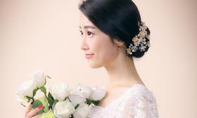 【梦里梦外】简约典雅韩式新娘造型-跨国恋终成眷属