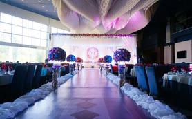 爱在细微末节,紫色梦幻复古欧式婚礼