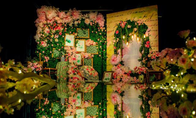 【幸福蜜语婚礼馆】森系南法花园风婚礼《聆听花开》