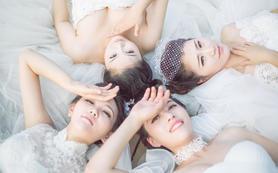 【得色】超值四件套:清丽出门纱+2件礼服+伴娘服