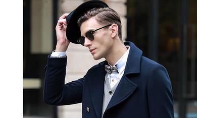 绅士必备-藏蓝色系列大衣