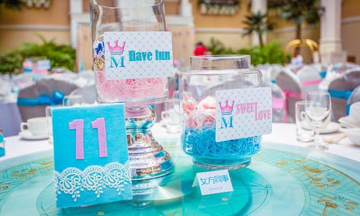 来自EN婚礼——清新的粉蓝色系婚礼