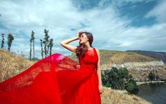 <客片>红裙