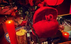 中式婚禮-罌粟紅與babyblue
