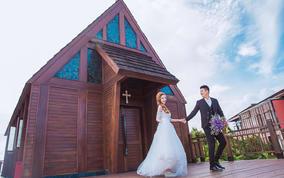 三亚婚纱摄影婚纱照 亚龙湾森林公园非诚勿扰2