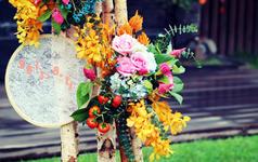 圆满:一场绣绷主题婚礼