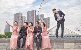 JDstudio婚礼摄影《美空姐&帅机长》