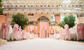 [情画婚礼]阳光厅下粉色的祝福