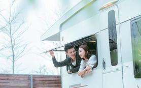 《为爱旅行—房车》乌克丽丽旅行婚纱摄影