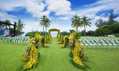 三亚亚龙湾希尔顿酒店婚礼