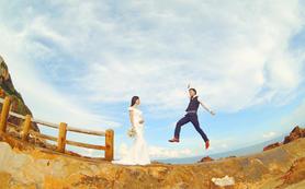 国内旅行婚纱