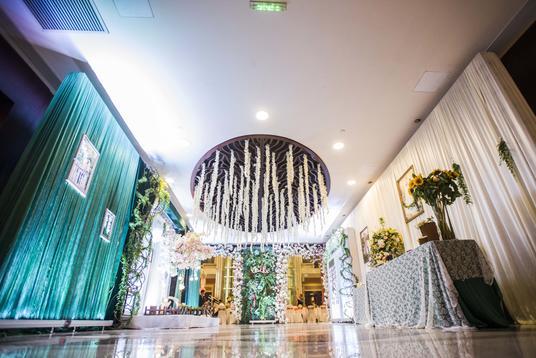 半森林系婚礼现场