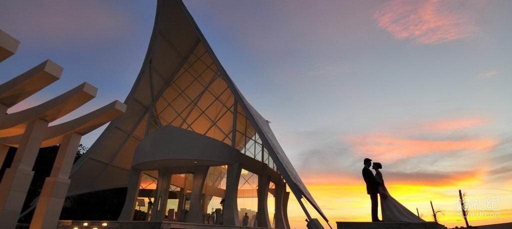 【婚礼纪特供一价全包】巴厘岛海之教堂婚礼