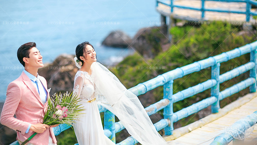 三亚西岛婚纱照