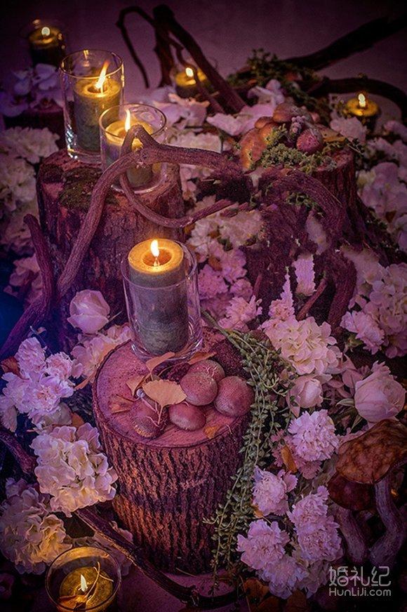 仪式道具桌幔造型装饰:2套(香槟塔