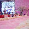 南北办了两场婚礼  哈尔滨是粉色的