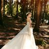 森系婚礼从婚纱照就开始森林风啦~