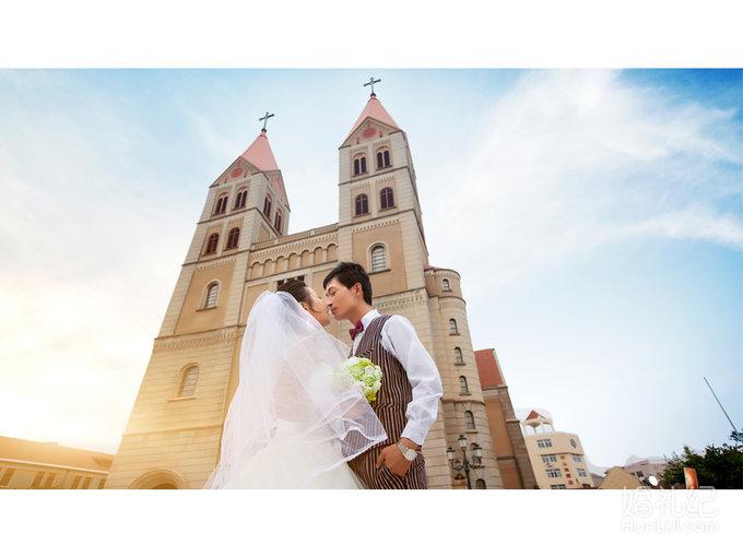 青岛三天两夜蜜月婚纱照套系