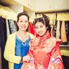黄色系婚房布置+妈妈装分享 中式造型嫁咯