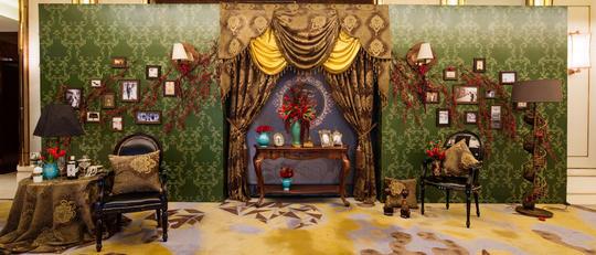 西安索菲特传奇厅 欧式婚礼布置