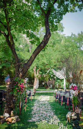 户外森林婚礼