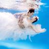 我的水下婚纱照拍超唯美  还有各种定妆照