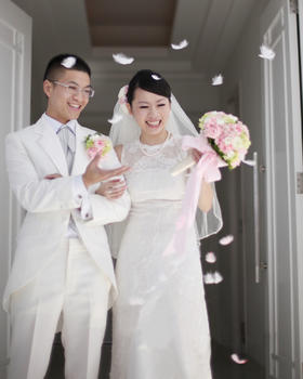 【BESTLOVE国际婚礼】美国关岛白色羽翼教堂