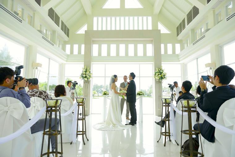 【BESTLOVE国际婚礼】泰国普吉岛拉古娜教堂婚礼