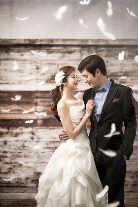 《戴安娜》系列时尚婚纱照