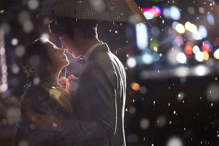 《倾星》韩式婚纱照系列
