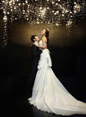《星空》夜景婚纱照系列