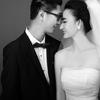 媲美电影海报的婚纱照,就是我的啦~~~