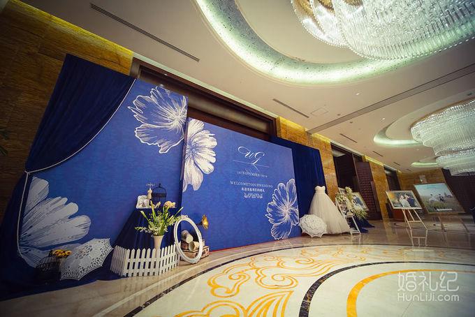 丈八宾馆--宝蓝色婚礼