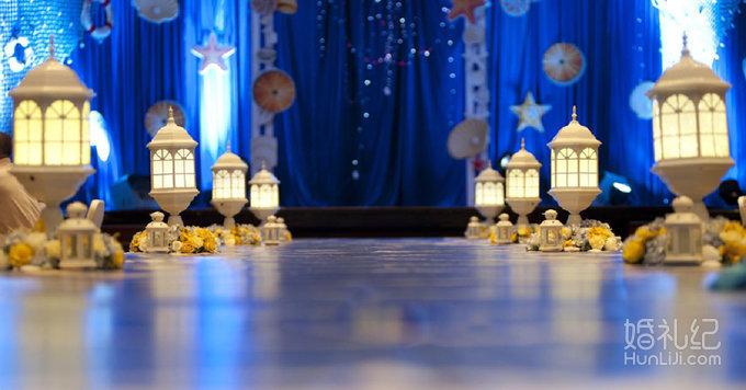 [四季童话婚礼定制]海洋风主题婚礼